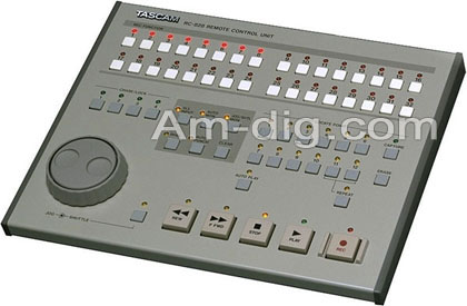 Tascam RC-828: Remote Control for DTRS Machines from Am-Dig