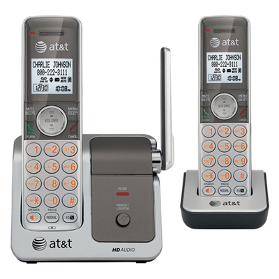 ATT 8120 Two Handset Answering System w/ Caller ID from Am-Dig