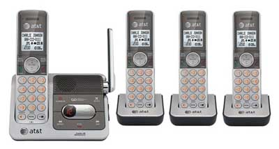 ATT CL82401: Cordless Phone, DECT 6.0, 4 Handsets from Am-Dig