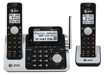 ATT CL83201: Digital 2 Handset Phone, DECT 6.0 from Am-Dig
