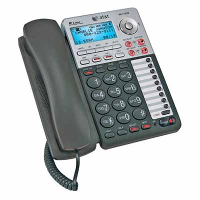 ATT ML17939: Phone 1 Handset, Black/Silver from Am-Dig