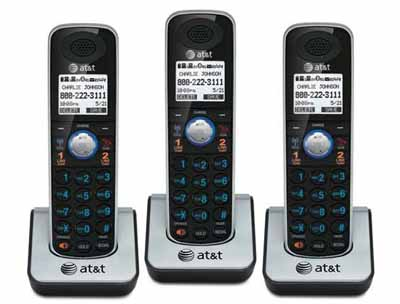 ATT TL860091: Black Cordless Phone Handset from Am-Dig