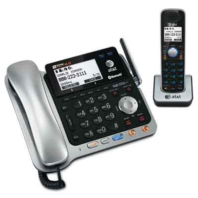 ATT TL86109: Two Line Corded/Cordless Phone System from Am-Dig