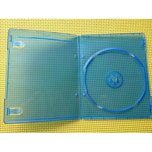 Blu-Ray Case - Single 7mm with Embossed Logo from Am-Dig