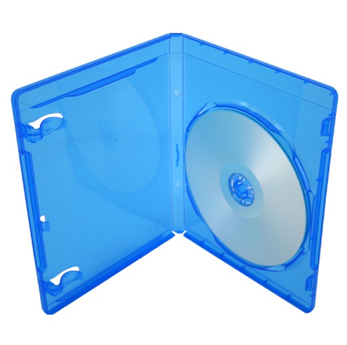 Blue Ray Case - Single w/ Logo and Outer Sleeve from Am-Dig