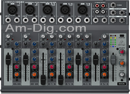 Behringer XENYX 1002B Small Format Stereo Mixer from Am-Dig