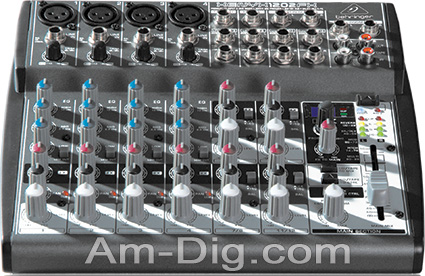 Behringer XENYX 1202FX Small Format Stereo Mixer from Am-Dig