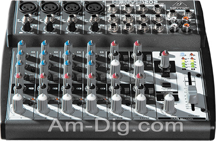 Behringer XENYX 1202 Small Format Stereo Mixer from Am-Dig