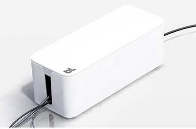 Bluelounge BLUCB-01-WH Cablebox Cable Mngmnt White from Am-Dig