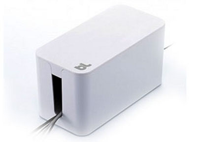 Bluelounge BLUCBM-WH Cablebox Mini Powersurge Whte from Am-Dig