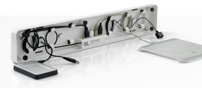 Bluelounge BLUSS-01-WH Space Desk Organizer White from Am-Dig