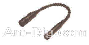 Calrad 10-3: 18'' Gooseneck Mic w/ XLR Male Socket from Am-Dig