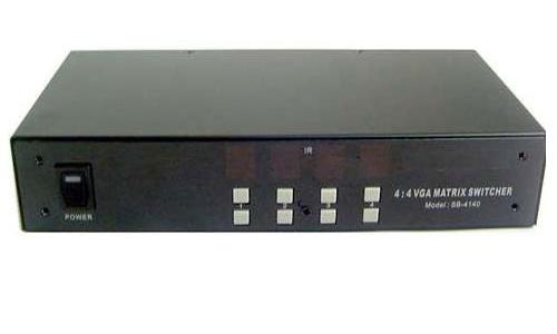 Calrad 40-4140: VGA 4 x 4 Matrix Switcher from Am-Dig