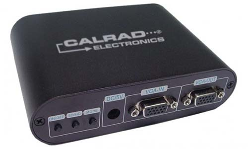 Calrad 40-480: VGA to Component Converter from Am-Dig
