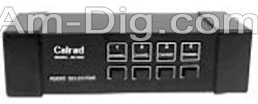 Calrad 40-640: Audio Selector Switch from Am-Dig