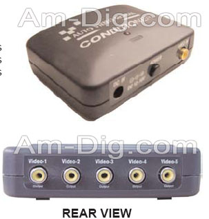 Calrad 40-812-5: Video Conditioner 1 In 5 Out from Am-Dig