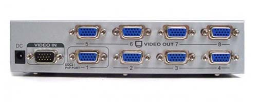 Calrad 40-828-350: 8 Channel 350Mhz SVGA Splitter from Am-Dig