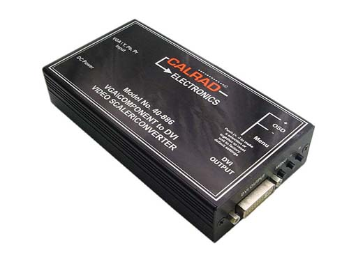 Calrad 40-882: Video to DVI Scaler from Am-Dig