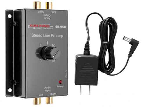 Calrad 40-950: Stereo Preamp from Am-Dig