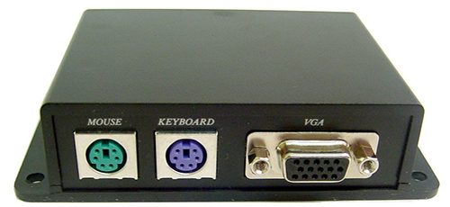 Calrad 40-KM01: Keyboard & Mouse Over Cat-5E from Am-Dig