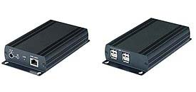 Calrad 40-UE02: Powered 2.0 USB Over Cat-5  from Am-Dig