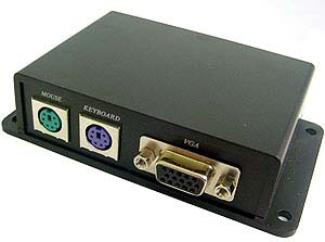 Calrad 40-VKM01: Video Keyboard Mouse Over Cat5(2) from Am-Dig