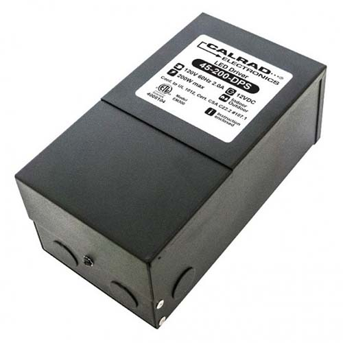 Calrad 45-200-DPS: Dimable Power Supply 12VDC 200w from Am-Dig