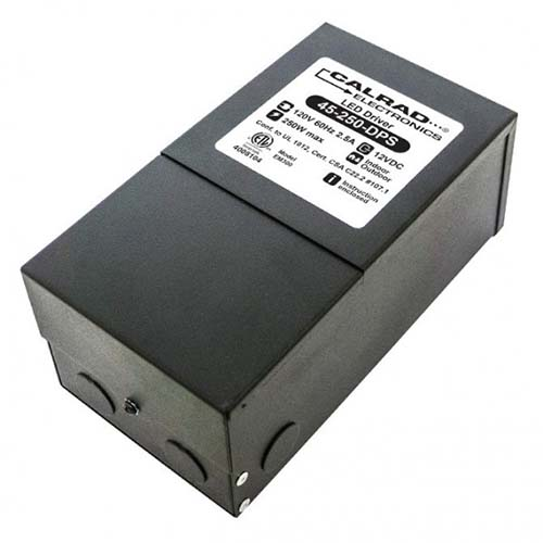 Calrad 45-250-DPS: Dimable Power Supply 12VDC 250w from Am-Dig