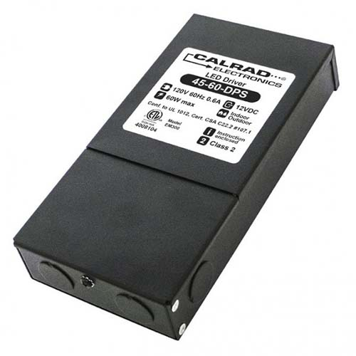 Calrad 45-60-DPS: Dimable Power Supply 12VDC 60w from Am-Dig