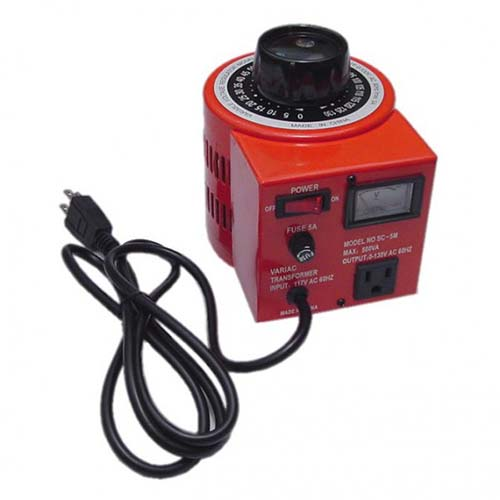Calrad 45-740: 5 Amp 0-150 Volts Variac from Am-Dig