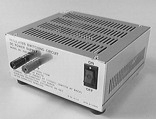 Calrad 45-778: 12VDC 10 Amp Regulated Power Supply from Am-Dig