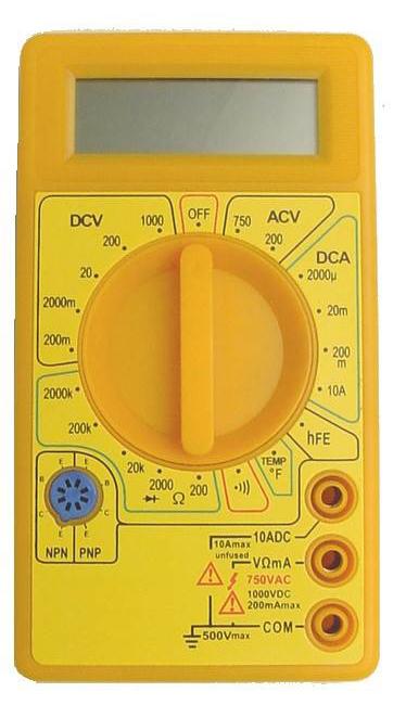 Calrad 65-263: Digital Multimeter from Am-Dig