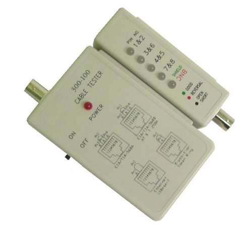 Calrad 72-248: Cat-5 Cable Tester from Am-Dig