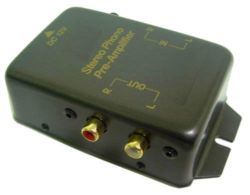 Calrad 80-574: Stereo Phono Pre-Amp from Am-Dig