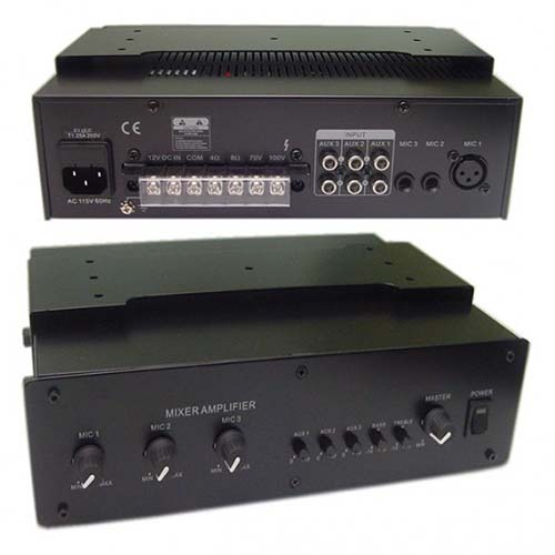 Calrad 95-875: 60watt Public Add.Amplifier from Am-Dig