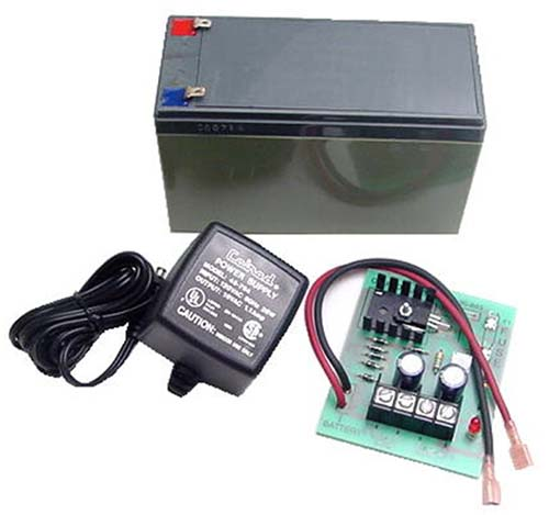 Calrad 95-893: 12VDC BackUp Power Supply & Battery from Am-Dig