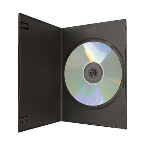 DVD Case - Black Single 5mm - Ultra Slim from Am-Dig