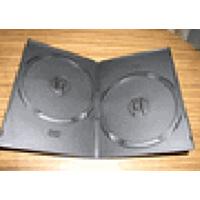 DVD Case - Black Double 7mm Spine - Super Slim from Am-Dig