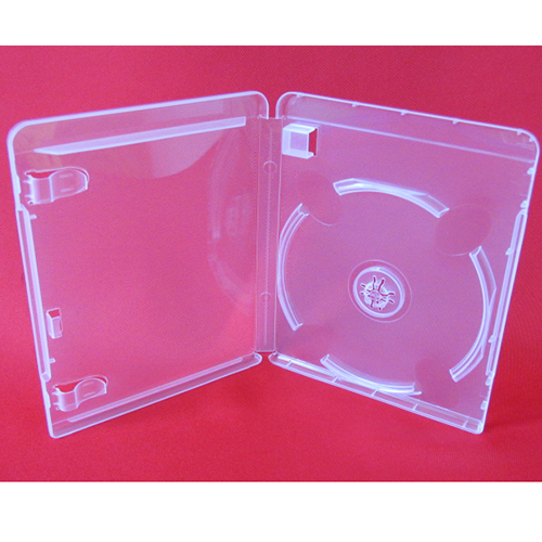DVD/USB Combo Case - Clear Single 14mm Spine from Am-Dig