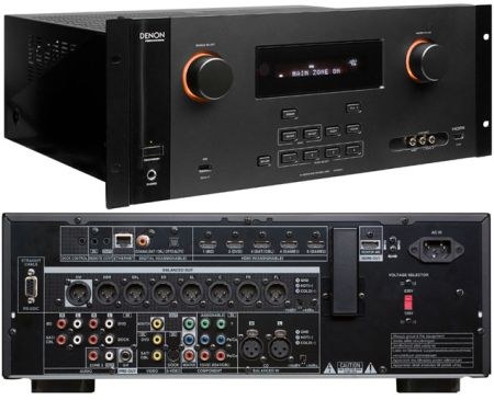 Denon DN-500AV: AV Surround Pre-Amplifier from Am-Dig