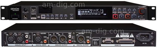Denon DN-500R SD/USB Recorder from Am-Dig
