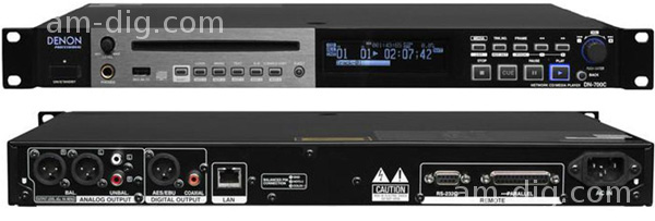 Denon DN-700C Network CD/Media Player from Am-Dig