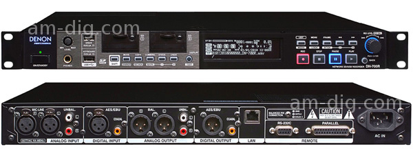 Denon DN-700R Network SD/USB Audio Recorder from Am-Dig