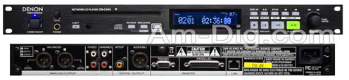 Denon DN-C640 Slot-In Network CD Player from Am-Dig