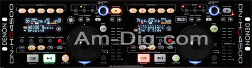 Denon DN-HC4500 USB MIDI Audio Interface from Am-Dig