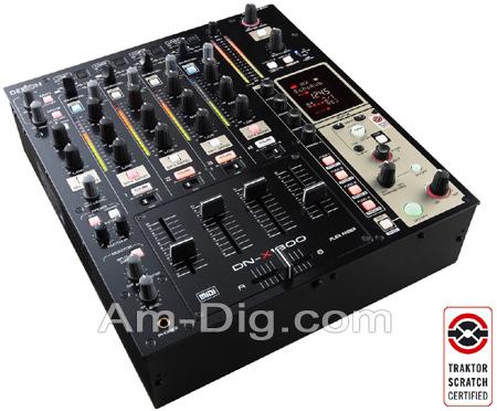 Denon DN-X1600 Professional 4-Ch Matrix Mixer from Am-Dig