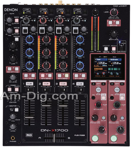 Denon DN-X1700 Flagship 4-Ch 32-Bit Matrix Mixer from Am-Dig