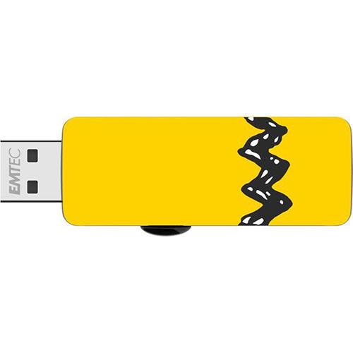 EMTEC ECMMD8GM700SW01: Smiley Flash Drive 8GB M700 from Am-Dig