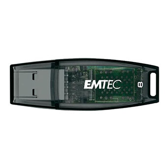 EMTEC ECMMD8GV410C: 8GB Blue Flash Drive  from Am-Dig