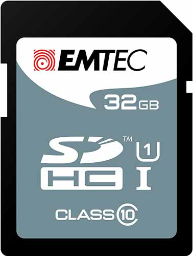 EMTEC ECMSD32GHC10: SDHC Memory Card 32GB Class-10 from Am-Dig